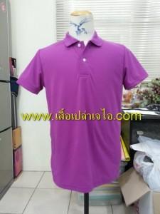 เสื้อโปโลสีม่วง1